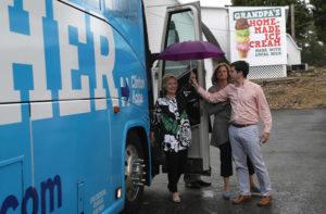 Hillary+Clinton+Tim+Kaine+Take+Campaign+Bus+YkckD6t7ZZtl